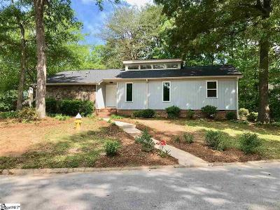 Taylors Single Family Home For Sale: 601 Gaithburg