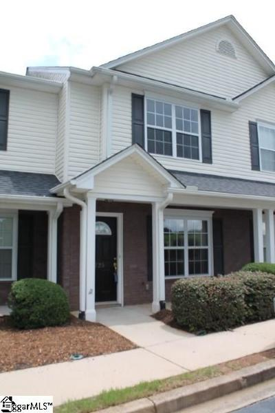 Greenville County Condo/Townhouse For Sale: 725 Rock Hill