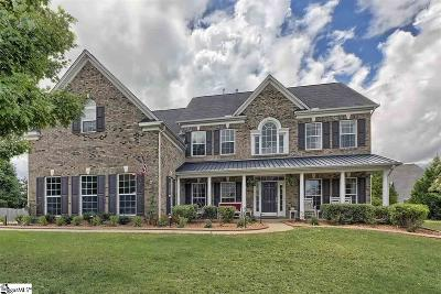 Simpsonville Single Family Home For Sale: 14 Alcovy