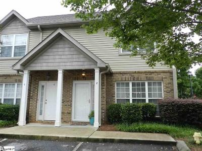 Greenville County Condo/Townhouse For Sale: 2 Amity