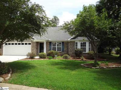 Greer Single Family Home For Sale: 214 Saint Croix