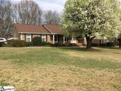 Greer Single Family Home For Sale: 100 Briar Creek