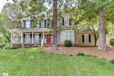 Simpsonville Single Family Home For Sale: 127 Circle Slope