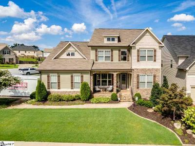 Simpsonville Single Family Home Contingency Contract: 2 Sheldrake