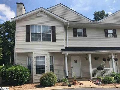 Greenville County Condo/Townhouse For Sale: 5 Allenwood