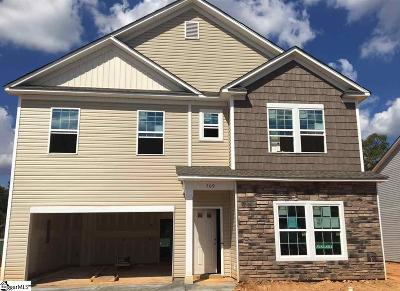 Simpsonville Single Family Home For Sale: 709 Camberwell #lot 382