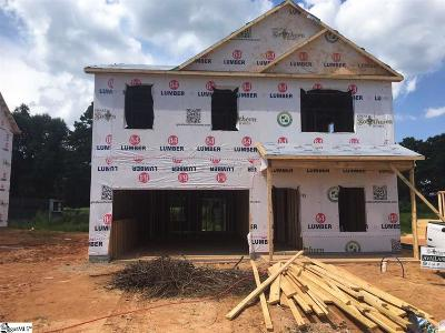 Simpsonville Single Family Home For Sale: 711 Camberwell #lot 381