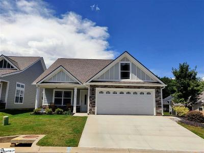 Taylors Single Family Home For Sale: 100 Red Rock