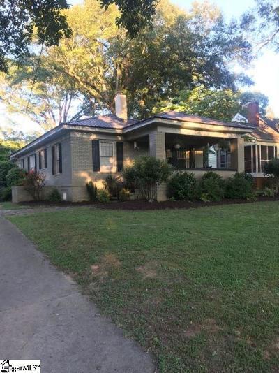 Greenville Single Family Home For Sale: 411 Jones