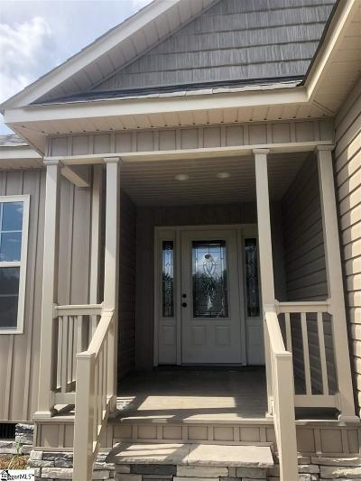 Inman Single Family Home For Sale: 911 Clark
