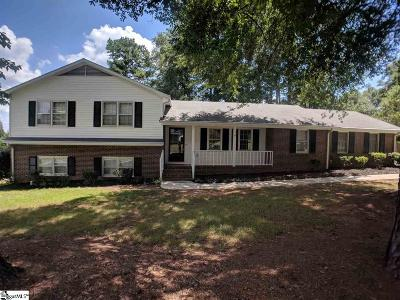 Greenville Single Family Home For Sale: 104 Cannon