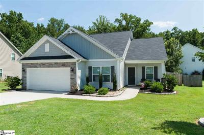 Boiling Springs Single Family Home For Sale: 361 Marble