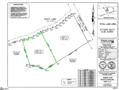 Easley Residential Lots & Land For Sale: 204 Rusty