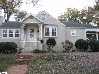 Greenville Single Family Home For Sale: 107 W Montclair