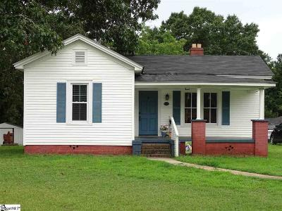 Greer Single Family Home For Sale: 291 N Suber
