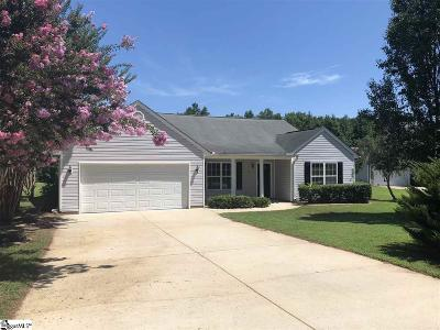 Taylors Single Family Home For Sale: 511 Crescentwood