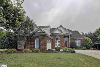 Simpsonville Single Family Home For Sale: 202 Turtle