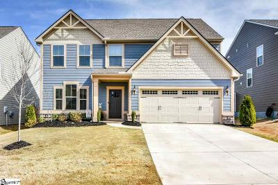 Greer Single Family Home For Sale: 18 Dauphine