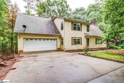 Greenville Single Family Home For Sale: 236 Shannon Lake
