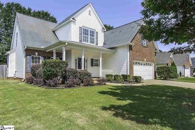 Easley Single Family Home Contingency Contract: 107 Hickory Run