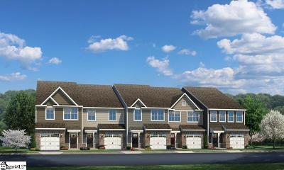 Simpsonville Condo/Townhouse For Sale: 42 Roseridge