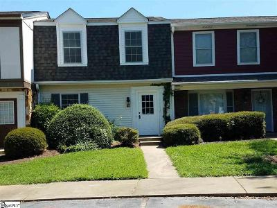 Greenville County Condo/Townhouse For Sale: 119 Shady Tree