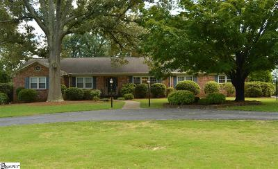 Greenville Single Family Home For Sale: 104 Sweetbriar