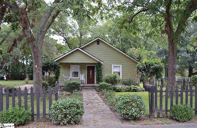 Greer Single Family Home Contingency Contract: 113 Poplar