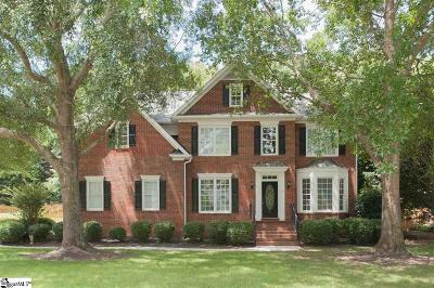 Simpsonville Single Family Home For Sale: 207 Worchester