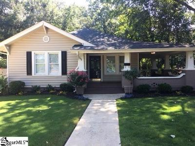 Greenville Single Family Home For Sale: 513 Houston