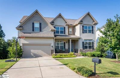 Simpsonville Single Family Home For Sale: 212 Abbey Gardens
