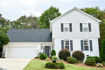 Sugar Creek Single Family Home Contingency Contract: 111 Cliffwood