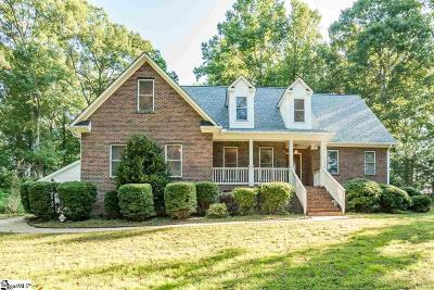 Inman Single Family Home For Sale: 371 Hickory Hollow