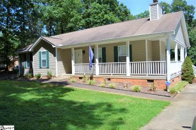 Easley Single Family Home Contingency Contract: 186 Bagwell