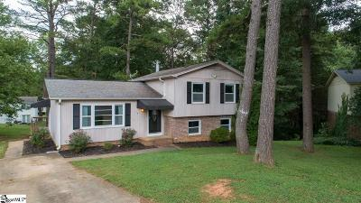 Simpsonville Single Family Home Contingency Contract: 14 Agewood
