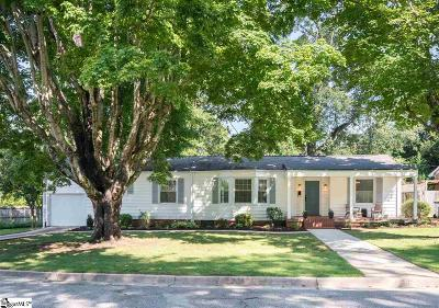 Greenville Single Family Home For Sale: 13 Woodbine