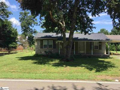 Greer Single Family Home Contingency Contract: 928 Harvey