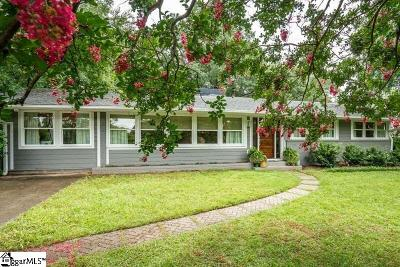 Greenville Single Family Home For Sale: 6 Grey