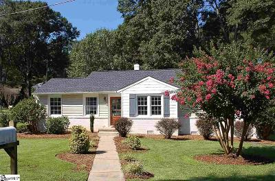 Greenville Single Family Home For Sale: 1 Blythewood