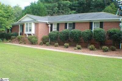 Greenville County Single Family Home For Sale: 22 Fenwick
