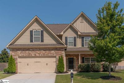 Simpsonville Single Family Home For Sale: 2 Ridgedale