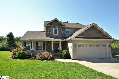 Greer Single Family Home For Sale: 55 Jaden