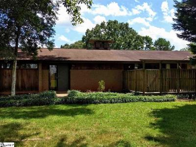 Easley Single Family Home For Sale: 159 Zion Church