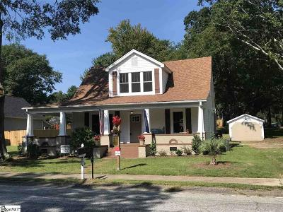 Simpsonville Single Family Home For Sale: 416 S Main