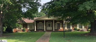 Greenville County Single Family Home For Sale: 114 Covington