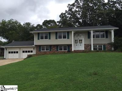 Mauldin Single Family Home For Sale: 415 Adams Mill