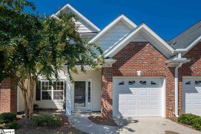 Simpsonville Condo/Townhouse For Sale: 55 Bay Springs