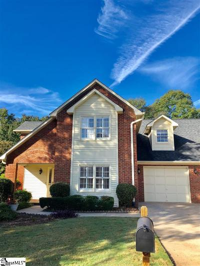 Greenville Single Family Home For Sale: 102 Fairoaks