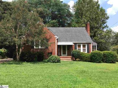 Greenville Single Family Home Contingency Contract: 113 E Hillcrest