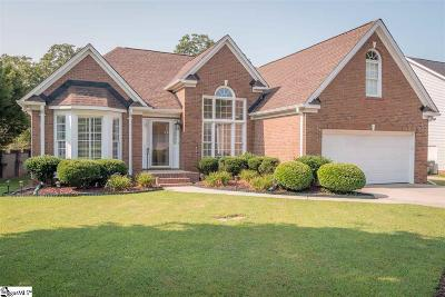 Greer Single Family Home For Sale: 1 Bushberry